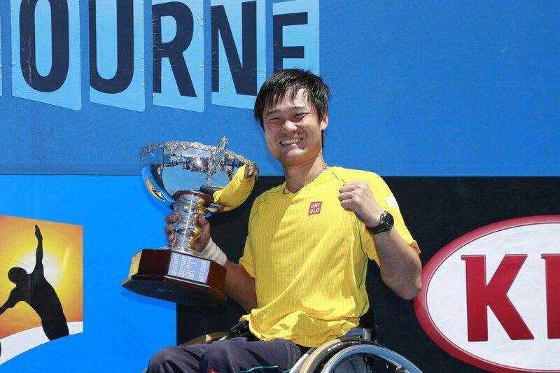 麗澤大学出身の世界ナンバーワン車いすテニスプレイヤー、国枝慎吾が後輩に熱いメッセージを。