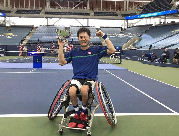 【卒業生の活躍】国枝慎吾選手、テニス全米オープン5年ぶり7度目の優勝!