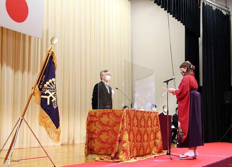 【開催報告】2020年度 麗澤大学学位記授与式を挙行