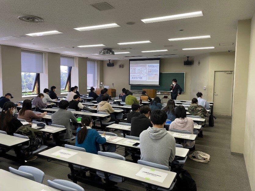 千葉県教育庁教育振興部教職員課職員による出前講座を開催しました