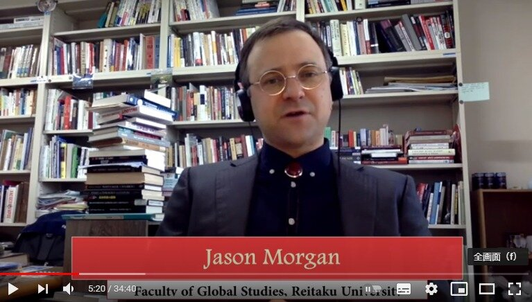 【メディア出演報告】国際学部 ジェイソン モーガン准教授、各種メディアに出演