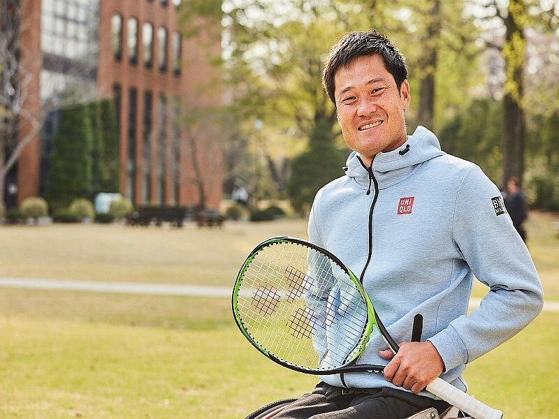 【卒業生の活躍】国枝慎吾選手、P&G 東京2020オリンピック・パラリンピックのCMに出演