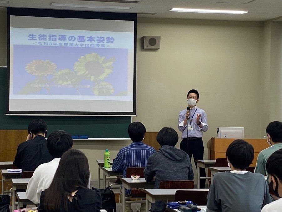 千葉県教育庁 指導主事による「麗澤大学出前講座」を開催