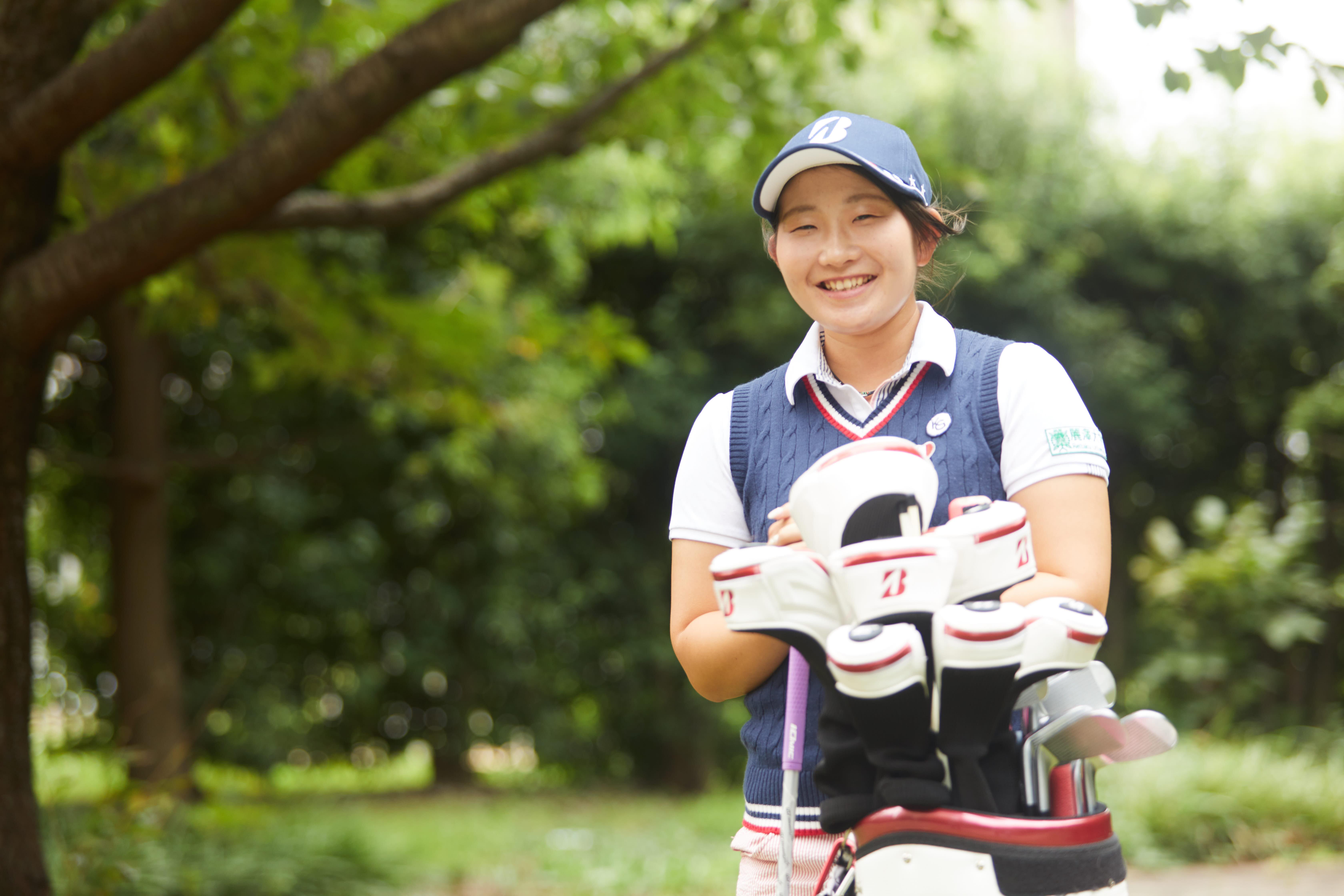 【卒業生の活躍】   工藤 優海さんが女子ゴルフのプロテストに合格